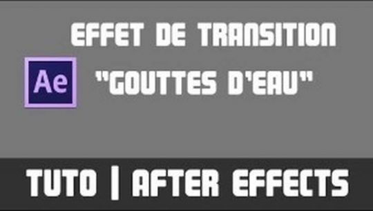 TUTO After Effects - Effet de transition